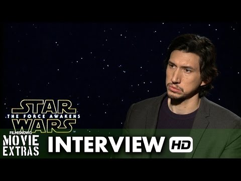 Star Wars: The Force Awakens (2015) Official Movie Inteview - Adam Driver is 'Kylo Ren'