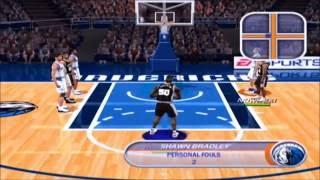 NBA LIVE 2002 Dallas Mavericks Vs  San Antonio Spurs