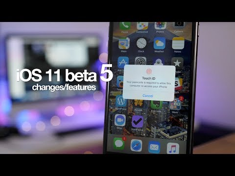 20+ new iOS 11 beta 5 features / changes!