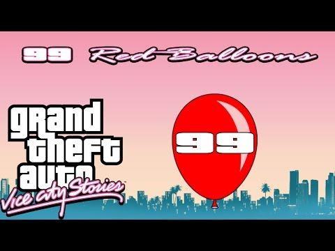 Grand Theft Auto: Vice City Stories | All 99 Red Balloons (100% Playthrough)