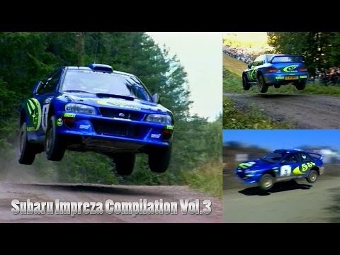 Subaru Impreza Rally Car Compilation Vol.3