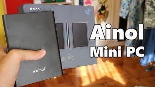 ainol Mini PC con Windows, review en espaol