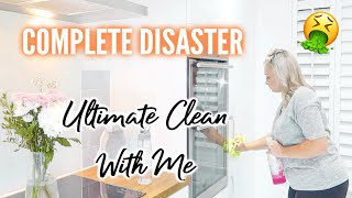 🤮 Complete Disaster ULTIMATE CLEAN WITH ME | RELAXING EXTREME CLEANING MOTIVATION |ELLIS SARA SMITH