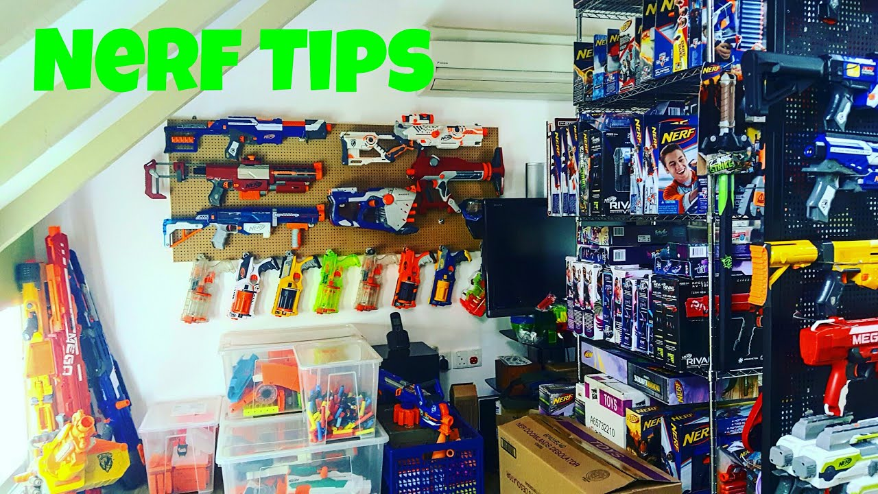 Tips Nerf Storage Solutions