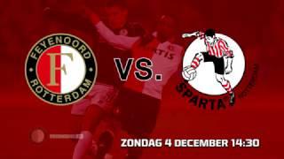 Feyenoord versus Sparta