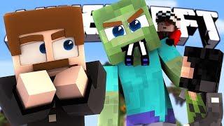ПЯТЬ ЮТУБЕРОВ ПРОТИВ ОГРОМНОГО ГИГАНТА И КОМАНДЫ ЧИТЕРОВ - Minecraft Gaint Wars