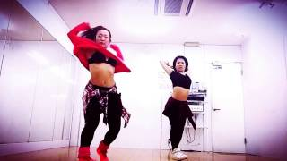 Yemi Alade - Tumbum / afrobeats choreography by Chiaki and Arisa