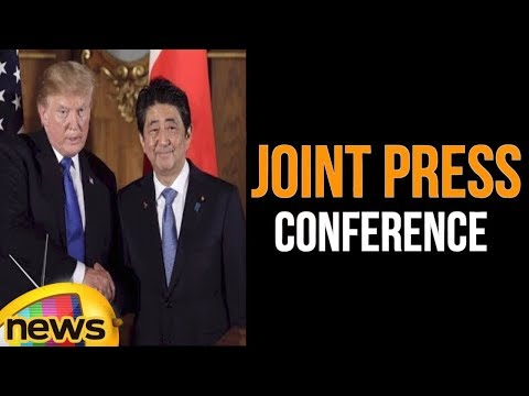 Trump Hosts a Joint Press Conference with the Prime Minister of Japan   Mango News