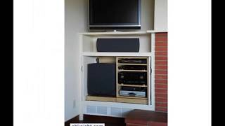 Easy Access Stereo Cabinet