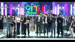 [110821] Super Junior WIN @Inkigayo