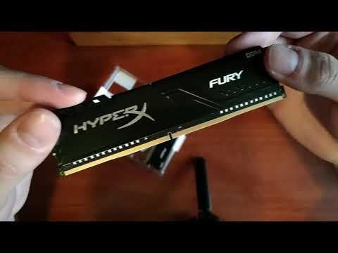 Оперативна пам'ять HyperX DDR4-3200 16384MB PC4-25600 (Kit of 2x8192) Fury Black (HX432C16FB3K2/16)