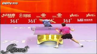 2012 China Super League: WANG Liqin - ZHOU Yu [Full Match/Short Form]