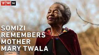 DESCRIPTION: Veteran actress Mary Twala was laid to rest on 9 July 2020. Her son, Somizi Mhlongo, paid tribute at her funeral.  #RIPMaryTwala #Somizi #Funeral