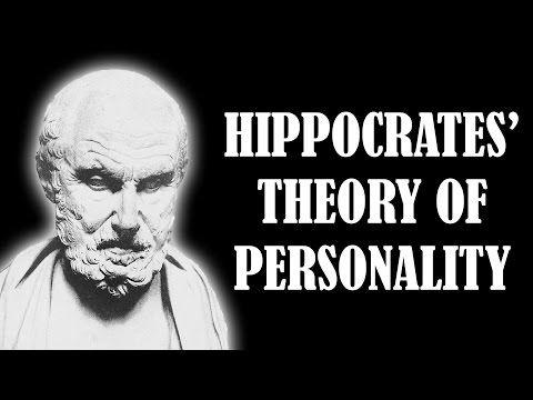 Hippocrates' Theory of Personality