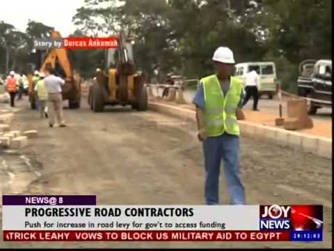 Progressive Road Contractors on Joy News