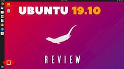 Ubuntu 19.10 Review | The Best GNOME Desktop, Yet?
