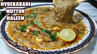 World Famous Hyderabadi Mutton Haleem   Reshedar Haleem Restaurant Style    Easy Haleem Recipe - CWF