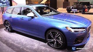 2018 Volvo V90 T6 R Design - Exterior and Interior Walkaround - 2018 Chicago Auto Show