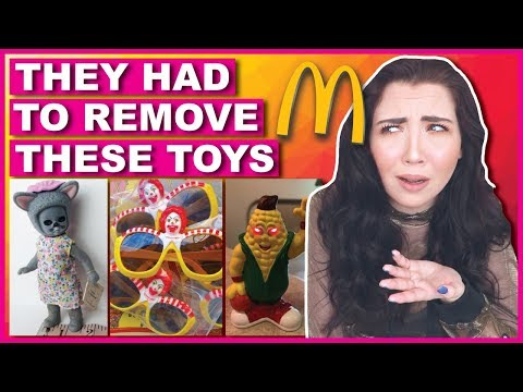 Creepy Happy Meal Toys You're Glad You Never Got