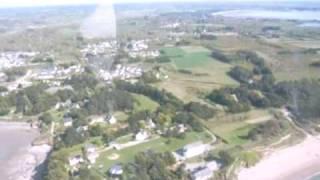 Penestin(56) vu du ciel en hélicoptère - Morbihan - Bretagne par Bzhsojo