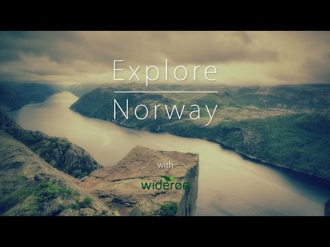 Explore Norway ✈ in 100 flights with Widerøe