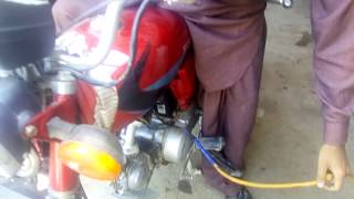 How To Run/Use Bike On Gas L.P.G Without Petrol - JustDoIt