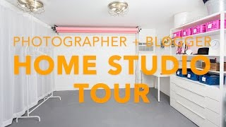 Blogger + Photographer Home Studio Quick Tour