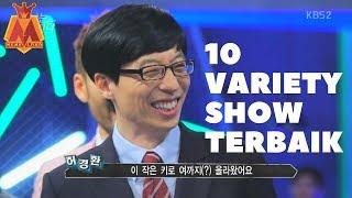 10 Variety Show Korea Terbaik,Jaminan Lucu!