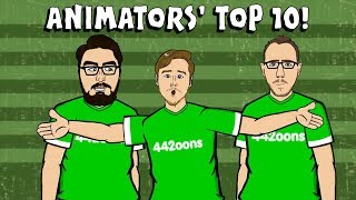 442oons ANIMATORS' TOP 1⃣0⃣