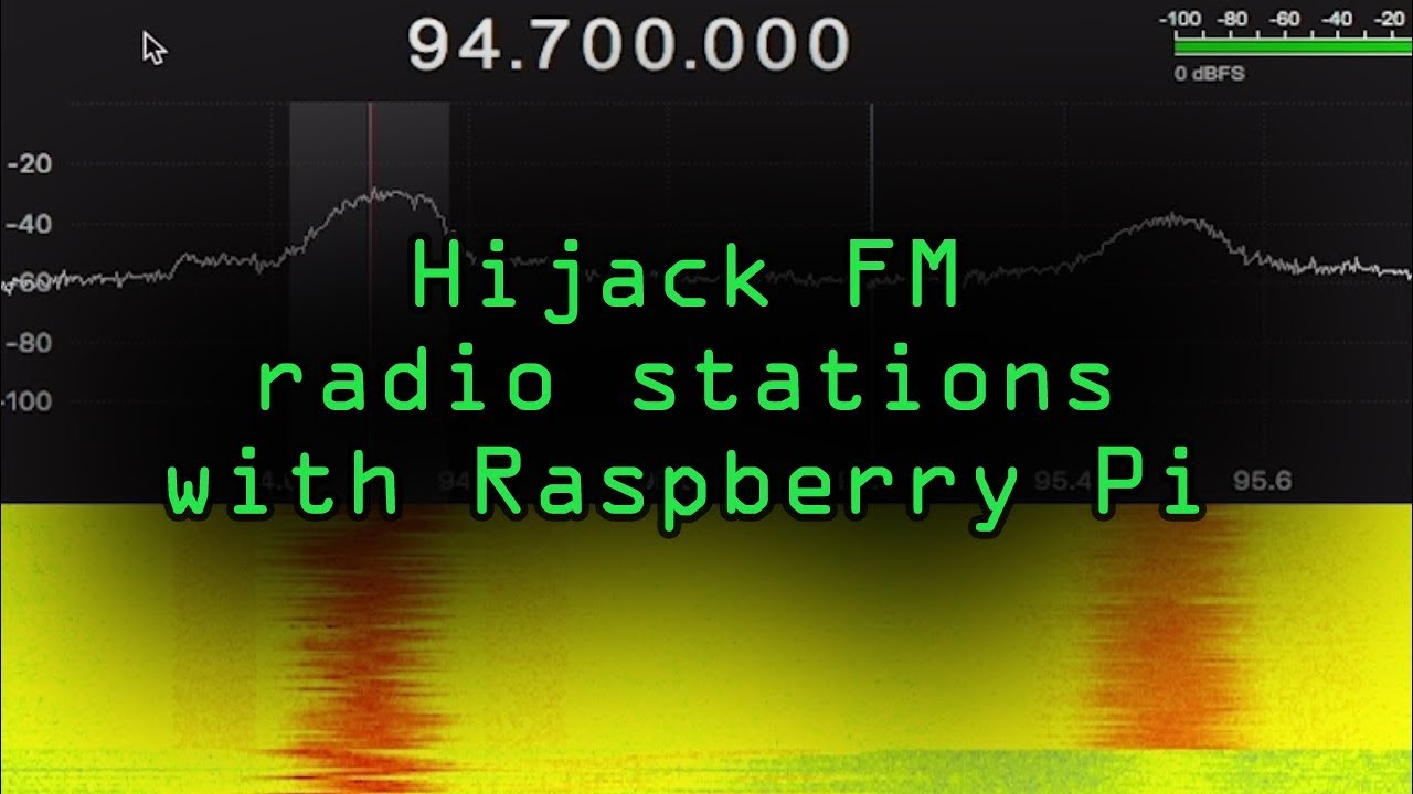 How to Hack Radio Frequencies: Hijacking FM Radio with a