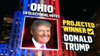 DONALD TRUMP WINS OHIO!