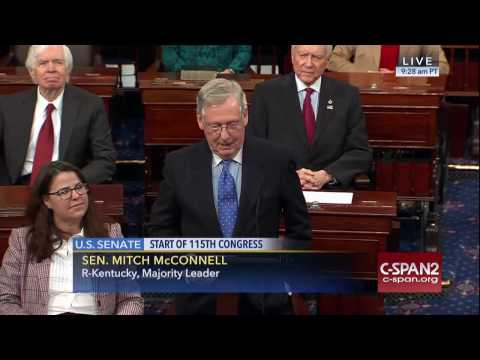 Majority Leader McConnell Welcomes 115th Congress