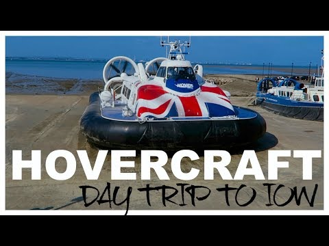 HOVERCRAFT DAY TRIP TO THE ISLE OF WIGHT | twoplustwocrew