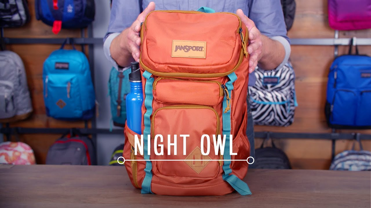 sale retailer c7c59 c7319 JanSport Pack Review  Night Owl - YouTube
