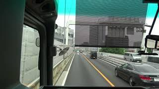 2018年4月撮影。京成バスの高速バスの最前面車窓展望動画です。新宿駅南...