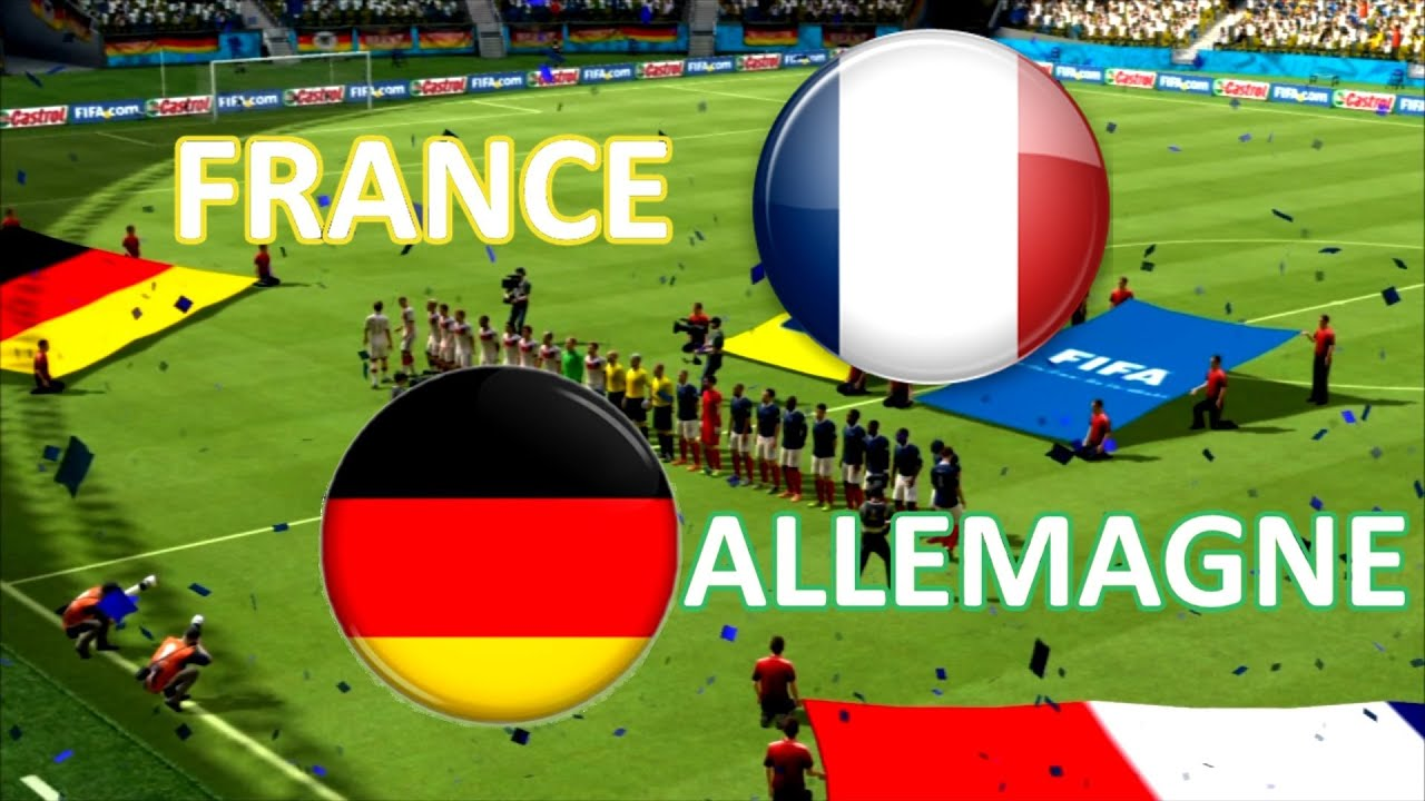 Coupe du monde 2014 france allemagne 1 4 de finale youtube - Coupe du monde france allemagne 1982 ...