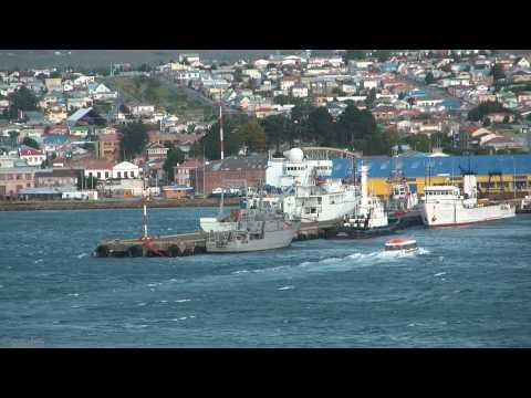 Port scenes, Punta Arenas, Chile