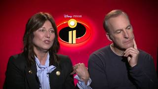 INCREDIBLES 2 Bob Odenkirk & Catherine Keener Interview