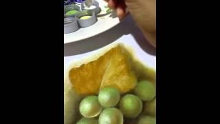 Uvas verdes- Amarildes Razera