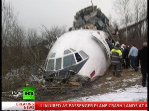 Nearly 2 Dozen Escape Injury After Plane Crashes on Takeoff in ...