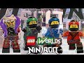 All LEGO Ninjago Characters And Brick Builds Unlocked In LEGO Worlds December 2018 Update mp3