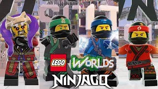 All LEGO Ninjago Characters and Brick Builds Unlocked in LEGO Worlds (December 2018 Update)