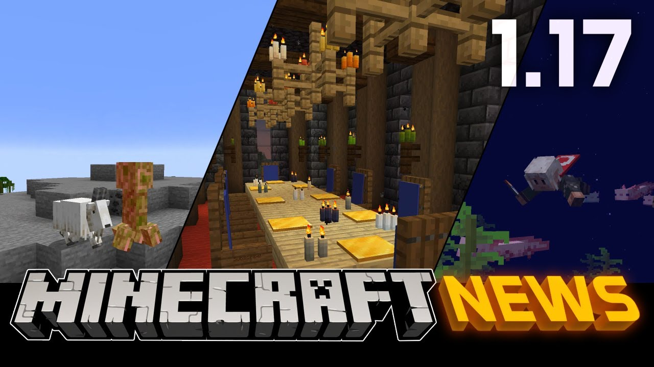 What's New in Minecraft 1.17 - The Caves and Cliffs Update Part I?