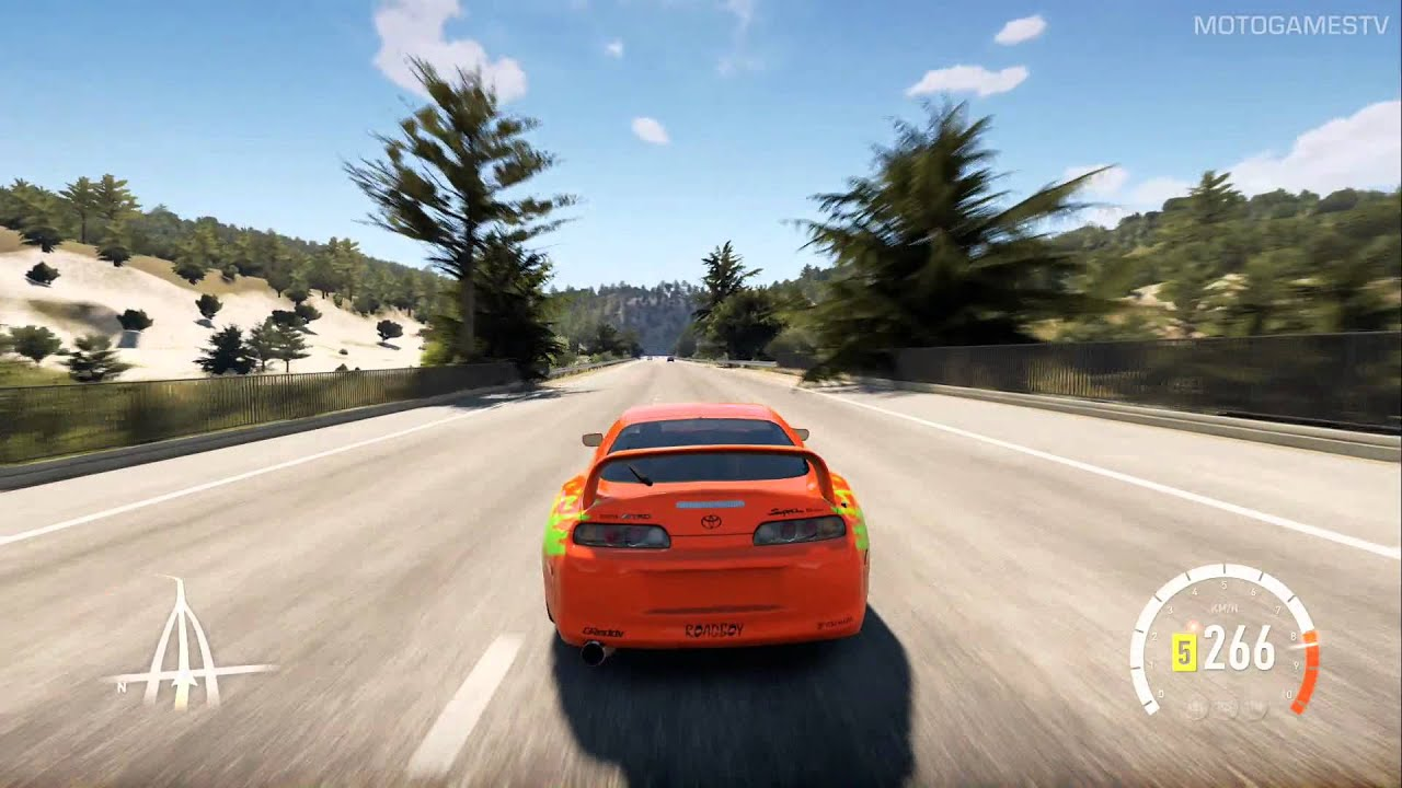 2015 Toyota Supra >> Forza Horizon 2 - Toyota Supra F&F Edition Gameplay - YouTube