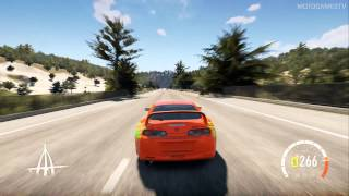 Forza Horizon 2 - Toyota Supra F&F Edition Gameplay