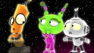 Rob the Robot | INVISIBOT | Adventure Cartoon for Children by Oddbods & Friends