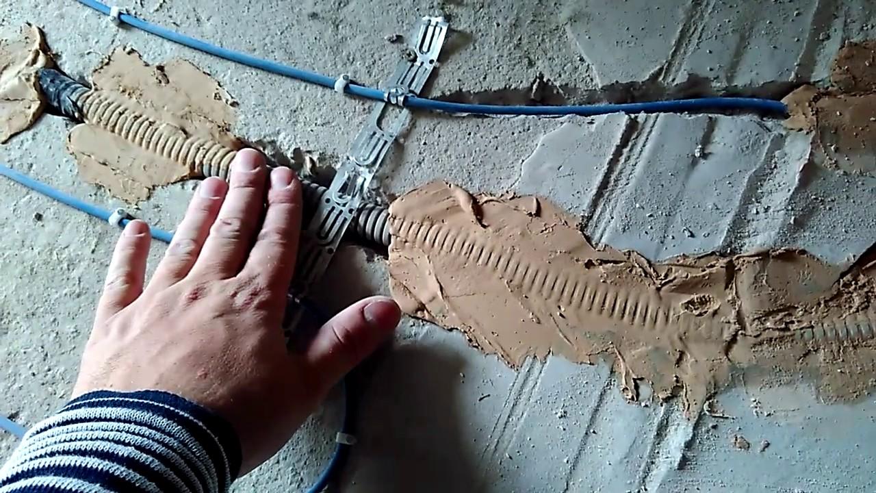 Электрический тёплый пол: монтаж тёплого электрического пола (цена .