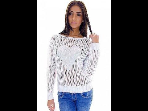 Вязаный свитер-оверсайз по модели H&M: 2 видео. Как связать свитер спицами. Вязаные свитера спицами