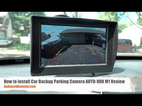 How to Install Car Backup Parking Camera - AUTO-VOX M1 Review