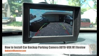 Video How to Install Car Backup Parking Camera - AUTO-VOX M1 Review download MP3, 3GP, MP4, WEBM, AVI, FLV Maret 2018